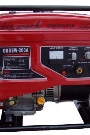 Сварочный генератор бензиновый Orbis OBEGW-200A в аренду