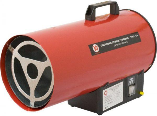 Тепловая пушка газовая КАЛИБР ТПГ-15 в аренду