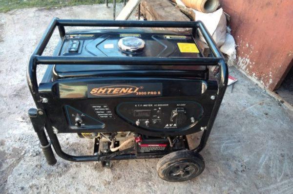 Бензогенератор 3 кВт (220 В) в аренду